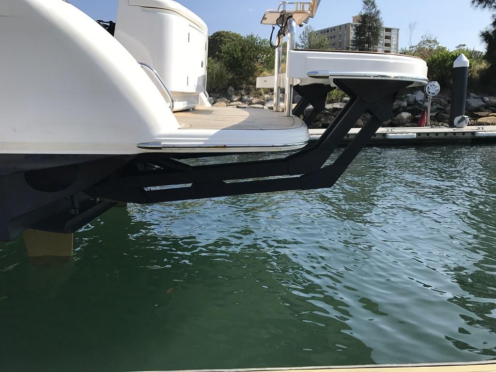 davco hydraulic swim platform 16