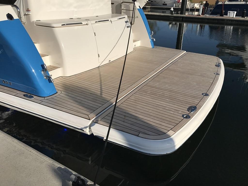 davco hydraulic swim platform 24