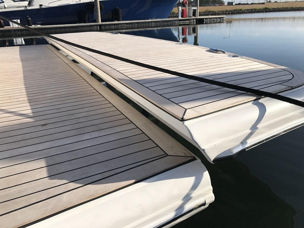davco hydraulic swim platform 25