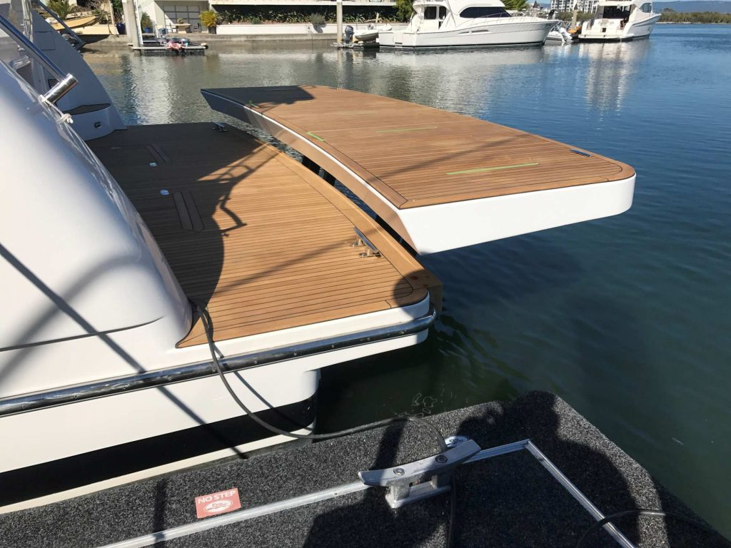 Boat Davits, Boat Cranes, Boat Cradles, Custom Marine Fabrication, Boat Winches & Hydraulic Swim Platforms